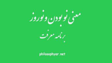عکس از معنی نو بودن در ابیات بهاری حافظ